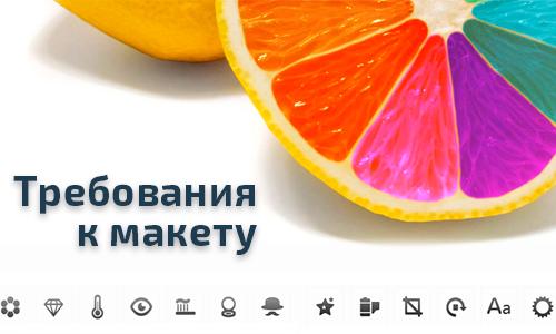 Требования предъявляемые в России к макету (шаблону) дизайна этикетки.
